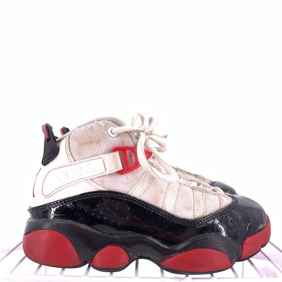 differently many styles new images of Nike Air Jordan 6 Rings Girls Size 11c